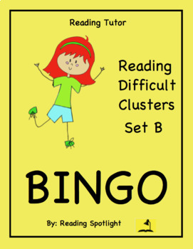 Reading Games: Reading Difficult Clusters Set B (Reading T