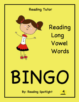 Reading Game: Reading Long Vowel Words (Reading Tutor Bingo)