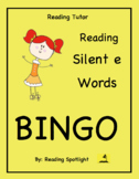 Reading Game: Reading Silent E Words  (Reading Tutor Bingo)