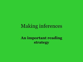 MAKING INFERENCES USING CLOSE READING REALISTIC FICTION 4T