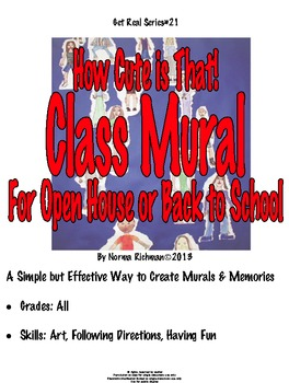 READY FOR OPEN HOUSE, BACK TO SCHOOL? CUTE, EASY CLASS MUR