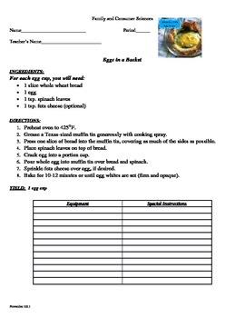 RECIPE: Eggs in a Basket