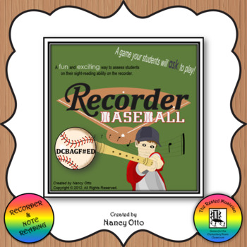 Recorder Baseball - DCBAGF#ED Version