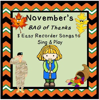RECORDERS November's BAG of Thanks