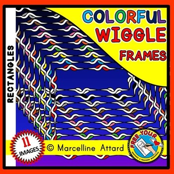 RECTANGLE WIGGLE FRAMES CLIPART: RECTANGLE CLIPART FRAMES
