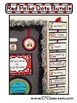 RED POLKA DOTS Classroom Decor - EDITABLE Clutter-Free Cla