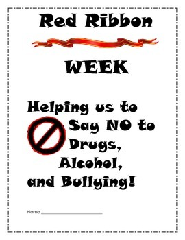 RED RIBBON WEEK FUN