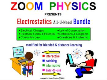 PHYSICS ELECTRICITY: Electrostatics, Charges, Coulomb's La