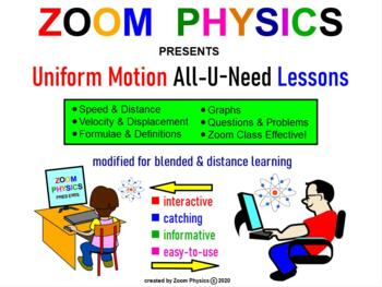 PHYSICS LESSONS: Kinematics: Uniform Motion, Problems, Tes