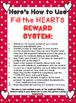 REWARD SYSTEM: Fill the HEARTS