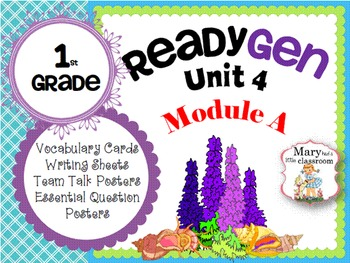 ReadyGen: Module 4A - 2014 Edition