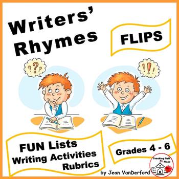 RHYMING | Interactive Workbook | Writers-Poets|WORD Lists