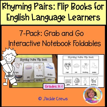 EARLY LEARNERS RHYMING PAIRS FLIP BOOKS 6-PACK: Grab & Go
