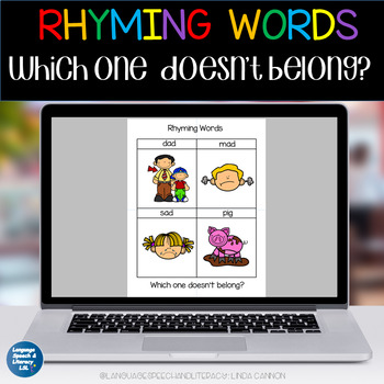 RHYMING WORDS - Which One Doesn't Belong