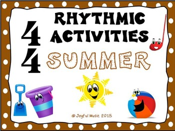 RHYTHMIC ACTIVITIES Summer Resources