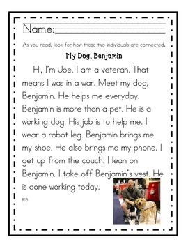 RI3 First Grade Reading Passages