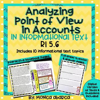 RI5.6/ RI 5.6 Analyzing Point of View Using Accounts