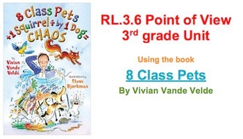 RL.3.6 3rd grade point of view unit