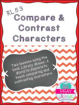 RL.5.3 Comparing and Contrasting Characters