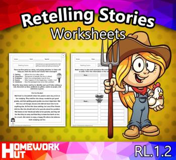RL1.2 - Retelling Stories Worksheets