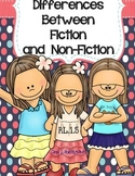 Major Differences Between Fiction and Non Fiction RL.1.5