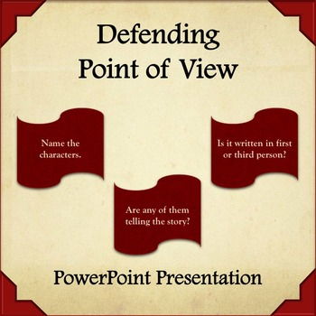 Defending Point of View Power Point