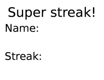 RM City Super Streak poster