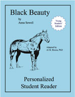 Black Beauty: Young Readers' Edition (Personalized Student