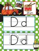ROAD TRIP - Alphabet Cards, Handwriting, Flash Cards, ABC