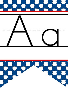 ROAD TRIP - Alphabet Flag Banner, handwriting, A to Z, ABC