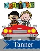 ROAD TRIP - Binder Covers / MS Word, you personalize