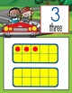ROAD TRIP - Number Line Banner, 0 to 20, Illustrated, Base