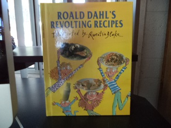 ROALD DAHL'S    REVOLTING RECIPES  ISBN 0-590-64799-7
