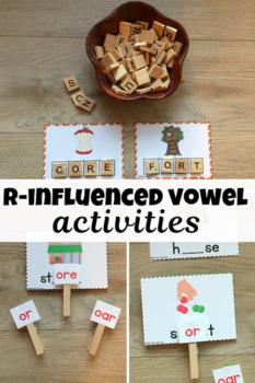 ROAR! r-influenced vowels -or, -ore, -oar