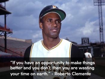 ROBERTO CLEMENTE POWERPOINT: ENGAGE NY MODULE 3A COMMON CORE