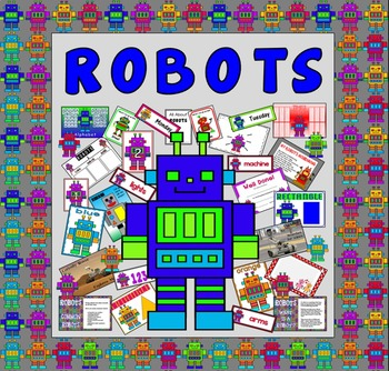 ROBOTS TEACHING RESOURCES - ROLE PLAY DISPLAY KS 1-2 EARLY