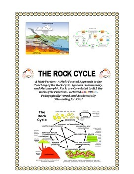 ROCK CYCLE and Geologic Scenarios: MINI-version (Highly Ac