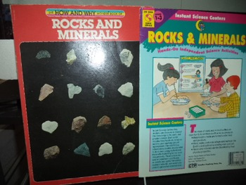 ROCKS AND MINERALS     (SET OF 2)