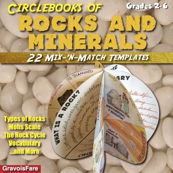 Rocks and Minerals -- Hands-on Projects—22 Mix-&-Match Templates