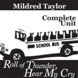 ROLL OF THUNDER, HEAR MY CRY Unit Teaching Package (Taylor