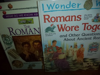 ROMANS WORE TOGAS; THE ROMANS (SET OF 2)