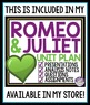 ROMEO AND JULIET FREE PRE-READING ACTIVITY