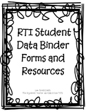 RTI Forms and Resources – Intervention File Box
