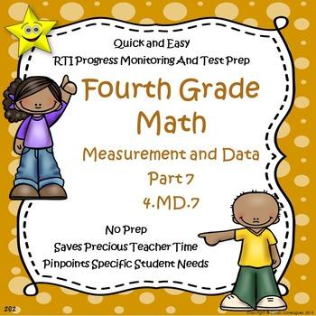 Math Measurement and Data Quizzes, Part 7
