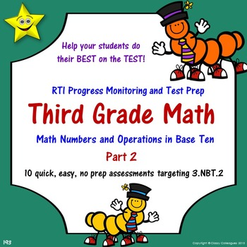 Math Number and Operations Quizzes, Part 2