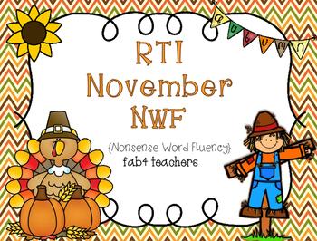 RTI November Nonsense Word Fluency