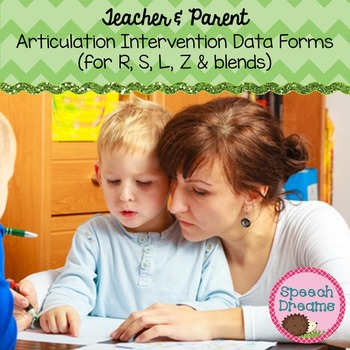 Teacher and Parent Response to Intervention Articulation D