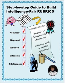 RUBRIC BUILDER - Template for Intelligence-Fair Assessments