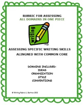 RUBRIC FOR ASSESSING All DOMAINS IN ONE PIECE