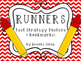 RUNNERS Testing Strategy Posters & Bookmarks!